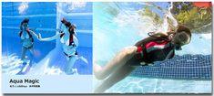 画像に含まれている可能性があるもの:1人以上、水泳、水、屋外