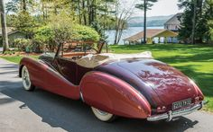 No sale | 1938 Avions Voisin C28 Cabriolet by Saliot Estimate: $800,000 to $1,000,000 Official Auction...