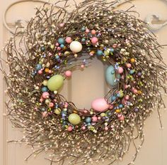Bunny Wreath Easter Wreath Spring Wreath by EverBloomingOriginal Easter Wreaths, Holiday Wreaths, Holiday Decor, Outdoor Wreaths, Berry Wreath, Summer Wreath, Spring Wreaths, Easter Crafts, Easter Decor
