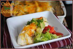 Chicken Lime Enchiladas