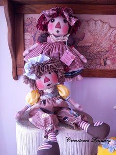 Mi Mundo Country Diy Y Manualidades, Raggedy Ann And Andy, Diy Doll, Softies, Art Dolls, Doll Clothes, Diy And Crafts, Teddy Bear, Sewing