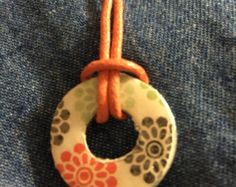 Salvador lavadora collar por CraftyScrapsBoutique en Etsy