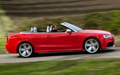The sound is somewhere between a howl and a wail – you'll never want to put the hood up: http://www.businesscarmanager.co.uk/audi-rs5-cabriolet-car-review-who-says-you-cant-mix-business-with-pleasure/