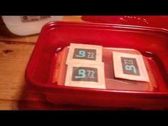 Recharging Boveda Packs - YouTube