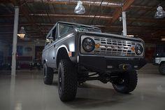 Jay Leno's Garage - 1971 ICON Bronco Restomod - Photo Gallery   Ford