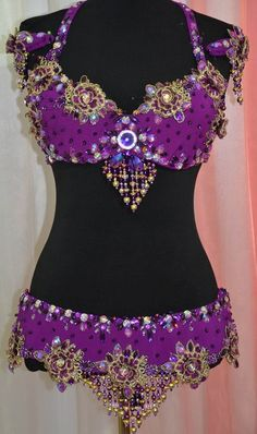 """Items similar to Belly dance costume, belly dance outfit, dance costume """"Purple flowers"""""""" on Etsy Stage Outfits, Hot Outfits, Dance Outfits, Dance Dresses, Belly Dance Skirt, Belly Dance Outfit, Belly Dance Costumes, Hippie Style Clothing, Hippie Outfits"""