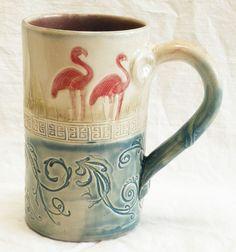 desertNOVA // Ceramic Flamingo Coffee Mug