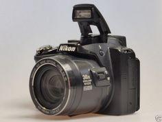 Nikon COOLPIX P500 12.1 MP Digital Camera - Black