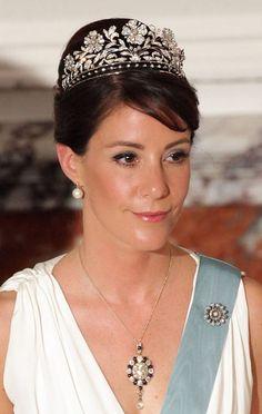 Princess Marie of the Danish Royal family