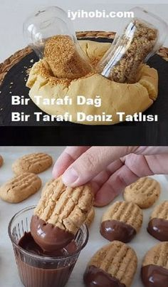 One Side Mountain One Side Sea Dessert – Tatlı tarifleri – The Most Practical and Easy Recipes Cookie Desserts, Cookie Recipes, Perfect Rice Recipe, Fun Cooking, Rice Recipes, Easy Recipes, Sweet And Salty, Winter Food, Delicious Desserts