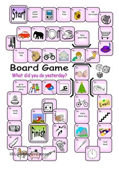 Resultado de imagen para free printable board games to learn english Games To Learn English, English Games, English Activities, Spanish Games, Learn Spanish, Speaking Games, Printable Board Games, Free Printable, Printable Worksheets