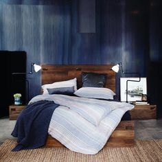 Favourite combination of muted tones! Showroom, Bed, Furniture, Instagram, Home Decor, Decoration Home, Stream Bed, Room Decor, Home Furnishings