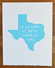 I'm not sure what this means, but if Texas is involved...it is awesome