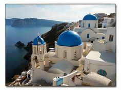 Greece, mediterranean sea: fresh fish, beautiful landscape, architecture, spanakopita??