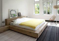 Ethnicraft Oak Madra King Size Bed