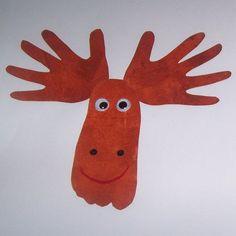 Un bricolage de Noël très simple et mignon pour la maternelle!