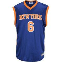 NBA New York Knicks Big Men's Porzingis Team Replica Jersey, 2XL, Blue