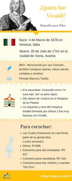 Vivaldi para niños: biografía y sus obras que más te pueden gustar. - #Vivaldi #biografíaparaniños