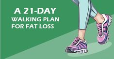Walking Plan For Weight Loss 21-Day Challenge