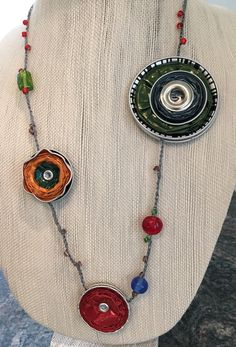 recycled Nespresso necklace