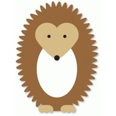 Silhouette Design Store - View Design #37333: hedgehog