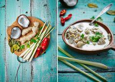 Zupa #Tom_Kha_Gai - na specjalne zamówienie klienta! Smacznego!  Jest zamówienie – jest realizacja! Dzisiaj w studio #tajskie_smaki, co nas niezmiernie cieszy, bo sami uwielbiamy zupy z kuchni orientalnej. Lista składników bardzo egzotyczna i pobudzająca apetyt.  Bon appetit!