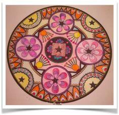 Mandala mis en couleurs par Mana   Atelier Les Couleurs de la Vie