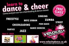 Leaflet Distribution, Leaflets, Jazz Age, Dance Class, Zumba, Cheerleading, Opportunity, Singing, Stationery