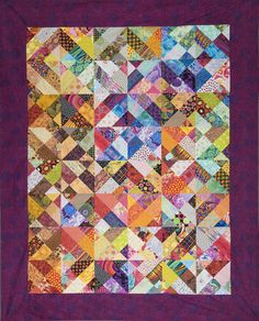 Off The Wall / Out Of Your Stash Dual Quilt by PieInTheSkyQuilts