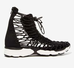 Jeffrey Campbell neoprene sneaker on Mercari Vans Sk8, Jeffrey Campbell, Converse Chuck Taylor, Designer Shoes, High Top Sneakers, Swag, Footwear, Boots, Milwaukee