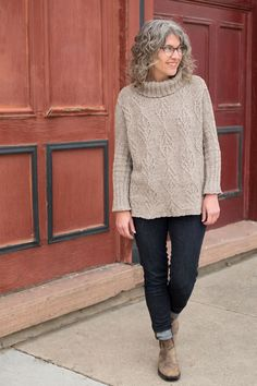 Jaime's Birch Bay Sweater | Fancy Tiger Crafts
