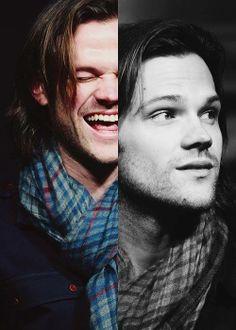 Supernatural <3 aww Sam Winchester Jared Pada..
