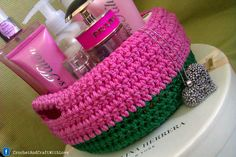 crochet baskets and bowls   http://www.facebook.com/CrochetAndCraftWithLove