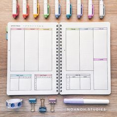 Image result for weekly template bujo