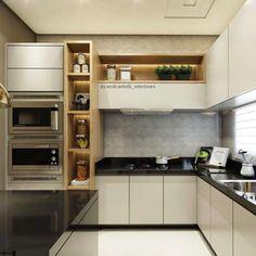 """5,039 Likes, 30 Comments - Decor•house•Home•Casa•Int•arq (@_homeidea) on Instagram: """"Cozinha clean e atemporal, com destaque para o revestimento #arcos da @ceramicaportinari {}, que…"""""""