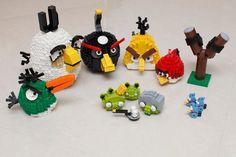 Adorables Angry Birds Lego