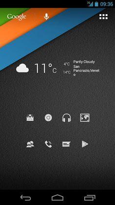 Personalizzazione Android #4: Icon Holo Minimal
