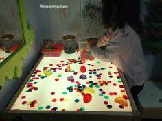mesa luz fichas