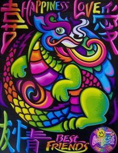 Lisa Frank Swag: The dragon