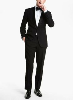 Prom style - Classic trim fit tuxedo
