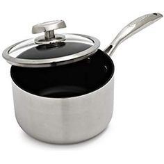 Scanpan CTQ Nonstick Saucepan >>> Details can be found by clicking on the image. (This is an affiliate link) Saucepans, Canning, Link, Kitchen, Image, Cuisine, Home Canning, Kitchens, Cucina