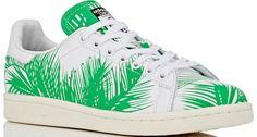 Adidas Stan Smith Palm Tree Green 2