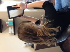 Brown ombre hair color. Natural looking hair color. Natural ombré