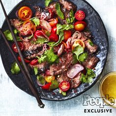 The author of the Milk Street cookbook makes a quick meal bursting with flavor. Asian Recipes, Beef Recipes, Cooking Recipes, Healthy Recipes, Ethnic Recipes, Thai Cooking, Thai Food Recipes, Beef Tips, Thai Steak Salad
