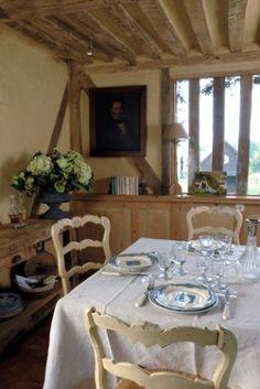 une maison française / a farmhouse in Normandy