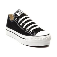 sale retailer dff45 68cf2 The classic Converse All Star Lo Chucks just got a feminine lift! This  Converse All Star Lo Platform Sneaker features a canvas upper, 6 eyelet  lace-up, ...