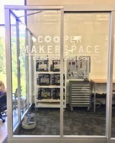 Cooper Makerspace Now Open Button Maker, Vinyl Cutter, Clemson, Legos, Libraries, Flooring, Home Decor, Lego, Decoration Home