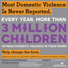 The Too Common Crime People Don't Want To Talk About And The 3 Million Kids Who Need Us To