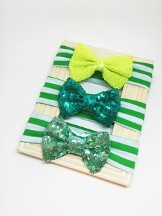 Sequence Bow Headwrap - Green Bow, St. Patrick's Day Headband, Baby Headband, Baby Hair Bow, Girl St. Patrick's Day Bow, Big Bow Headband by Simpletreeboutique on Etsy https://www.etsy.com/listing/265128638/sequence-bow-headwrap-green-bow-st