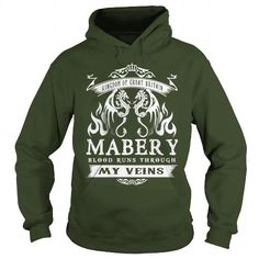 Awesome Tee Mabery BLOOD RUNS THOUGH MY VEINS Shirts & Tees